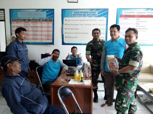 TNI brsinergi dengan Petani