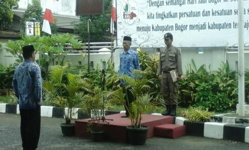 Upacara Peringatan Hari Jadi Bogor Ke 535 Tahun 2017 Kec. Cariu