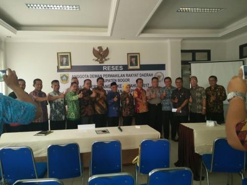 Semangat bersatu DPRD Kabupaten Bogor