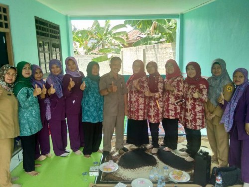 Lembaga Paud Desa Mekar Wangi Cariu di Jambani TIM Penggerak PKK Kabupaten Bogor