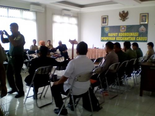 Rapat Koordinasi Pimpinan Kecamatan