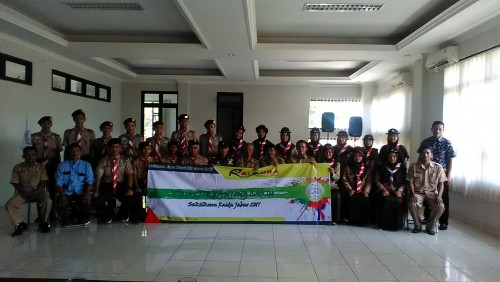 Pelepasan peserta Raida Jawa Barat 2017 kontingen Cariu