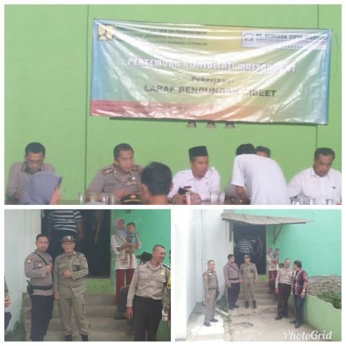 Konsultasi publik AMDAL bendungan cibeet di Cariu kab.Bogor