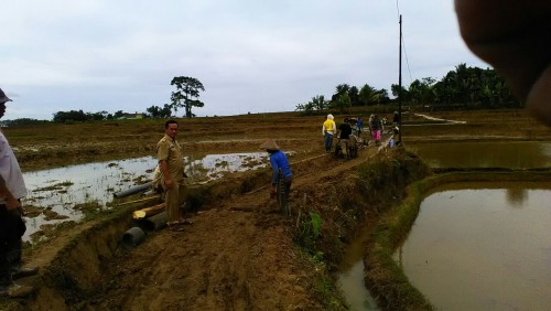Desa Cikutamahi masih fokus pembangunan infrstruktur dari Dana Desa