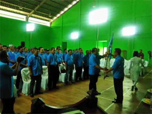 Sepuluh  Pengurus KWB Tingkat Desa se Kec CariubDilantik