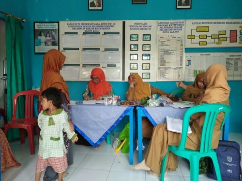 Posyandu Hebras Cariu Berhasil Tingkatkan Derajat Kesehatan Masyarakat